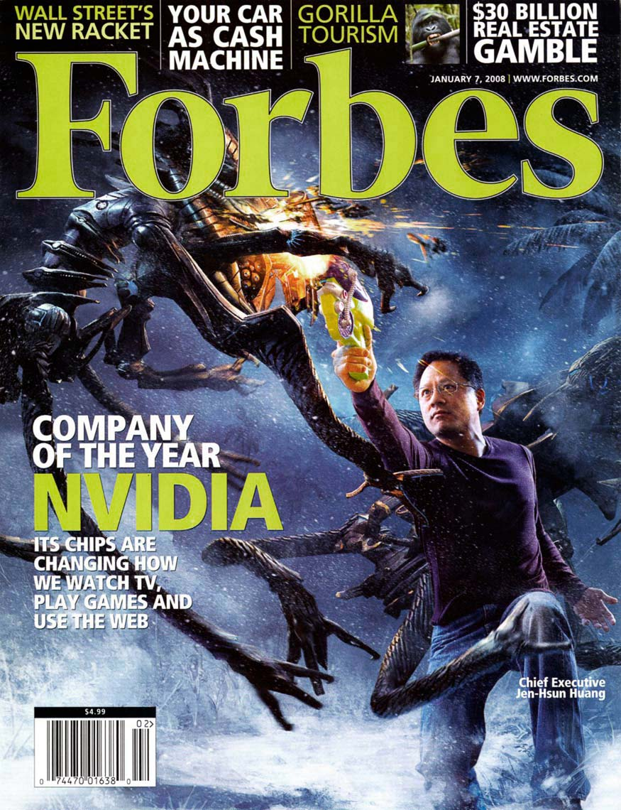 Forbes Magazine Cover, Nvidia MagazineCover, Business photography, trade magazine photography, corporate, editorial, advertising photography, headshot photography, executive portrait photography