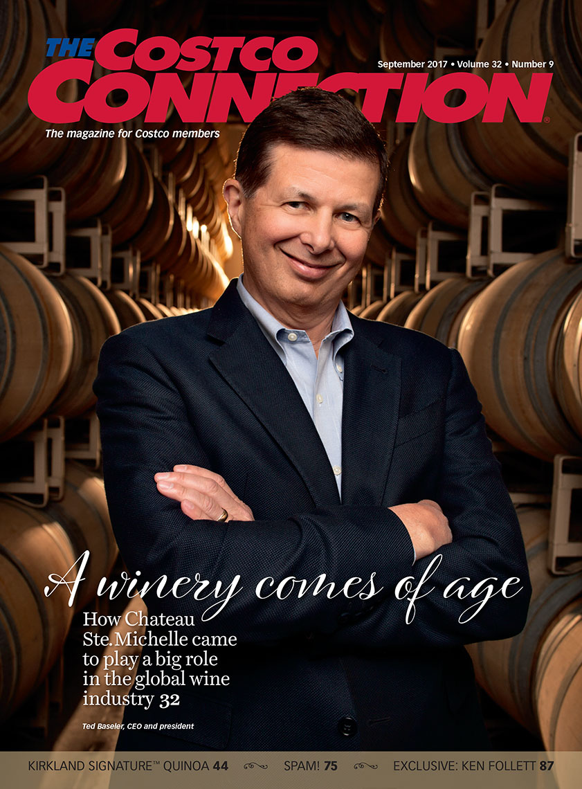 CostcoBaseler, MagazineCover, Business photography, trade magazine photography, corporate, editorial, advertising photography, headshot photography, executive portrait photography