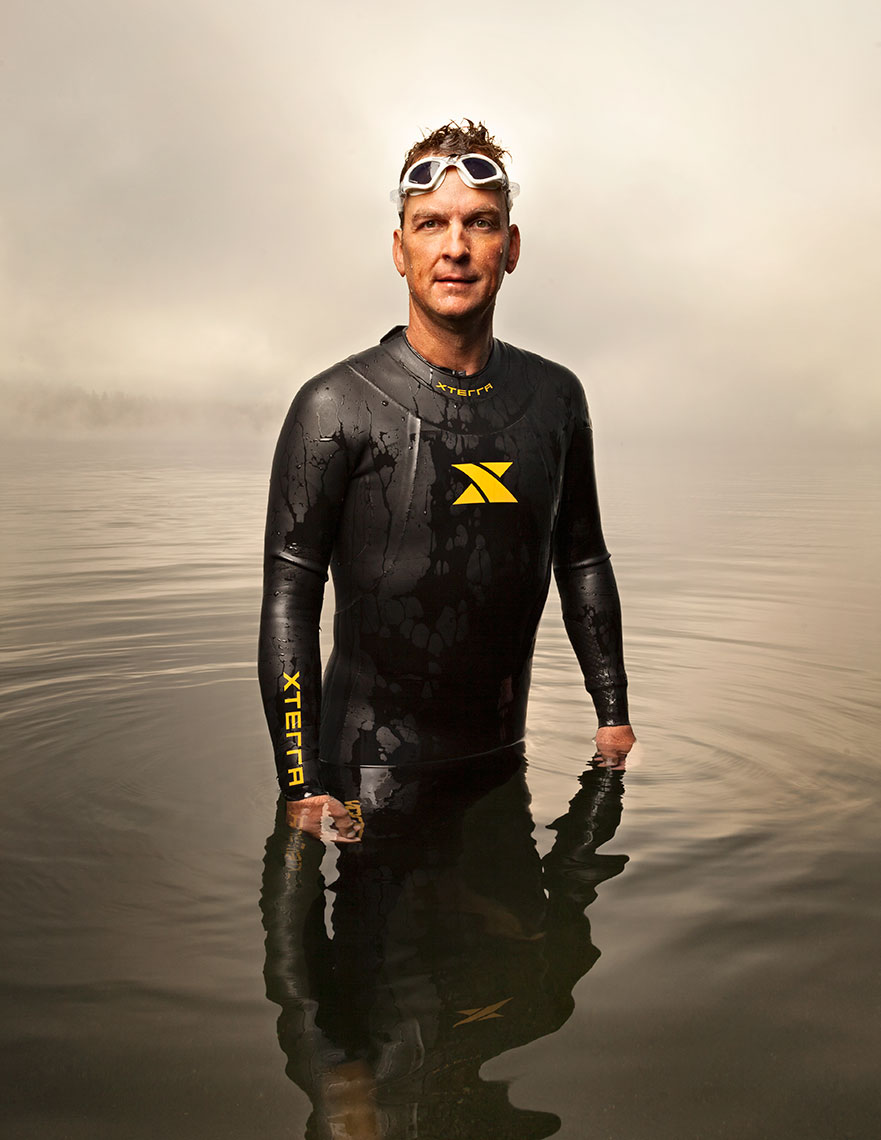 Dave Watkins, Triathlete, Medical, Healthcare Photography, Magazine Photography, editorial, portrait photography, advertising, business photography, corporate, headshot photography, Rick Dahms, Seattle
