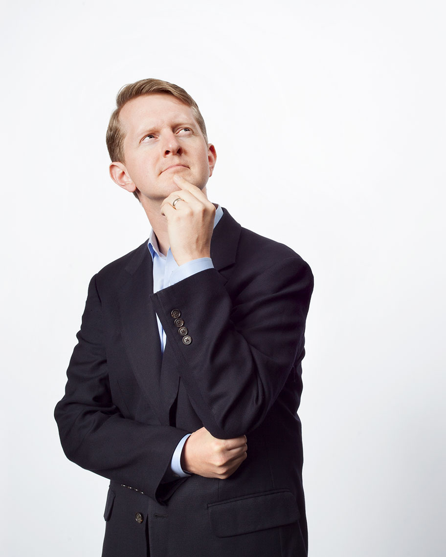 Ken Jennings, Celebrity portrait, Costco, Photography, Magazine Photography, editorial, portrait photography, advertising, business photography, corporate, headshot photography, Rick Dahms, Seattle