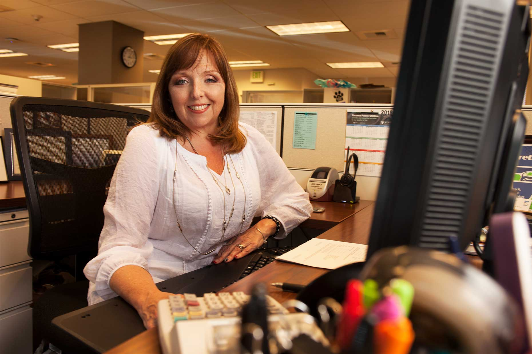 Sherry Berreth, Customer Service Tech.
