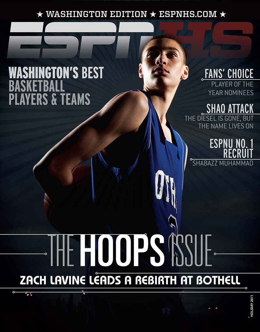 ZachLavine, ESPN, Magazine Cover, Sports photography, editorial, business photography, corporate annual report photography celebrity photography, seattle tacoma photographer